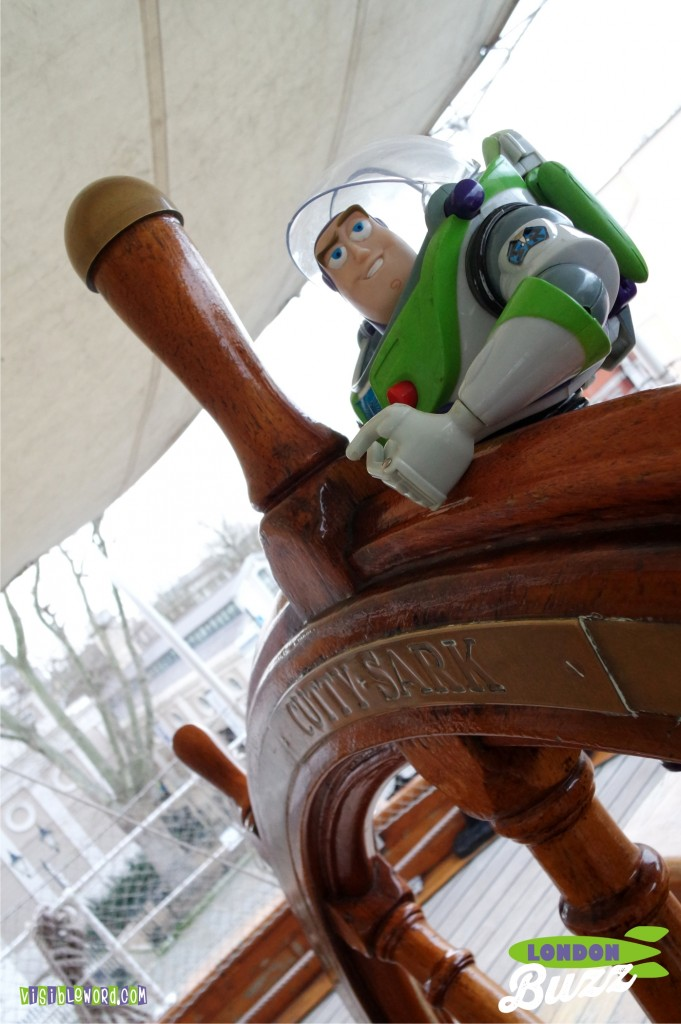 Buzz On Tour - At the Helm - photograph copyright David Bailey (not the)