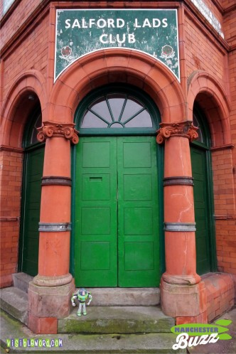 Buzz On Tour - Buzz at Salford Lads Club - photograph copyright David Bailey (not the)