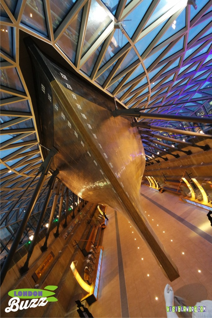 Buzz On Tour - the Cutty Sark - photograph copyright David Bailey (not the)