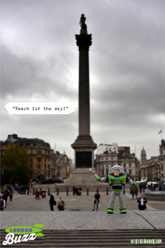 Buzz On Tour - Trafalgar Square - photograph copyright David Bailey (not the)
