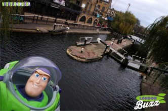 Buzz On Tour - Camden Lock - photograph copyright David Bailey (not the)