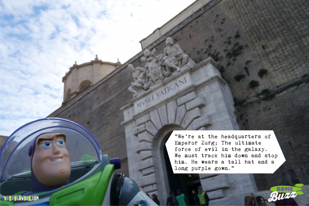Rome Buzz - Zurg's evil empire - photograph copyright David Bailey (not the)