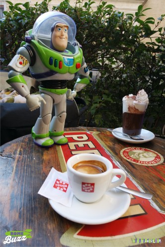 Rome Buzz- caffè lungo - photograph copyright David Bailey (not the)
