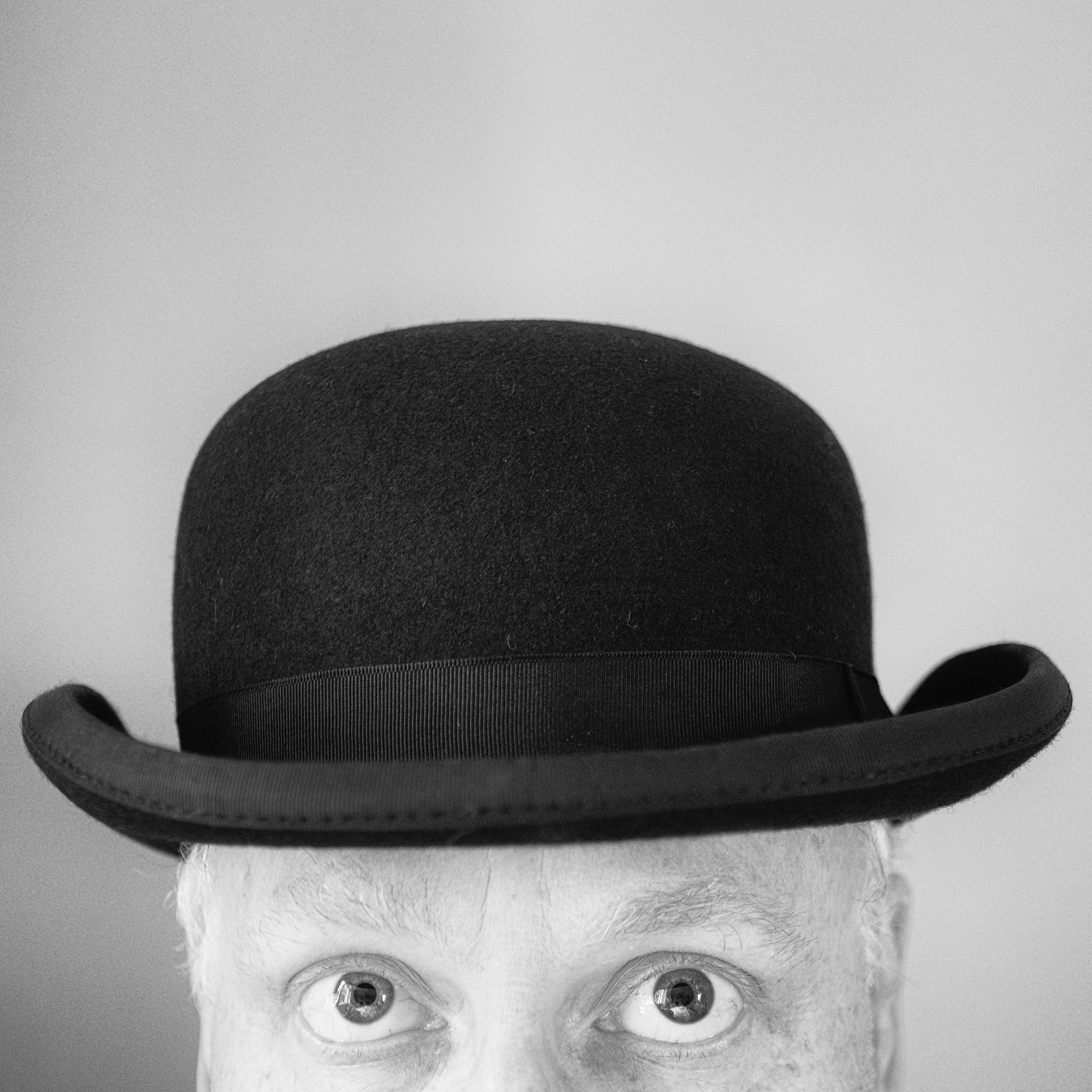 Sunday Selfie - 'Bowled' - Visible Word - photograph (c) David Bailey (not the)