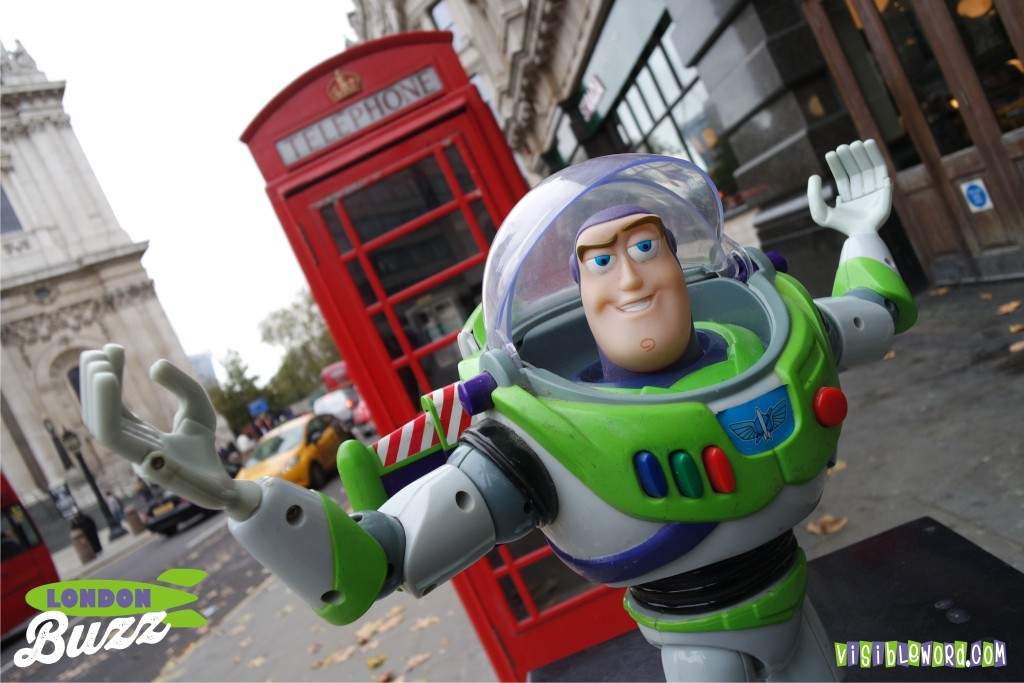 Buzz On Tour - St Paul's Cathedral - photograph copyright David Bailey (not the)