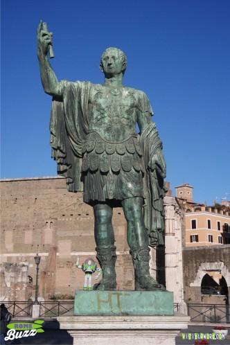 Rome Buzz - Hail Caesar - photograph copyright David Bailey (not the)