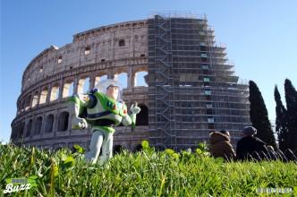 Rome Buzz - the Colosseum - photograph copyright David Bailey (not the)