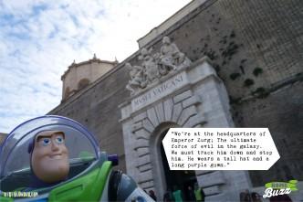 Rome Buzz - Zurg's evil empire - photograph copyright David Bailey (not the)