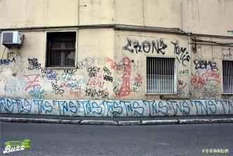 Rome Buzz - Graffiti is an Italian word - photograph copyright David Bailey (not the)