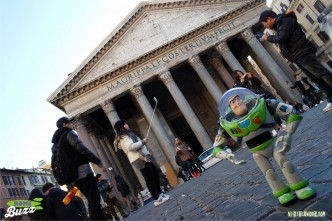 Rome Buzz - the Pantheon - photograph copyright David Bailey (not the)