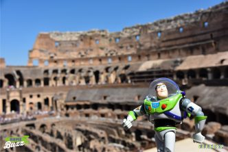 Rome Buzz - photograph copyright David Bailey (not the)