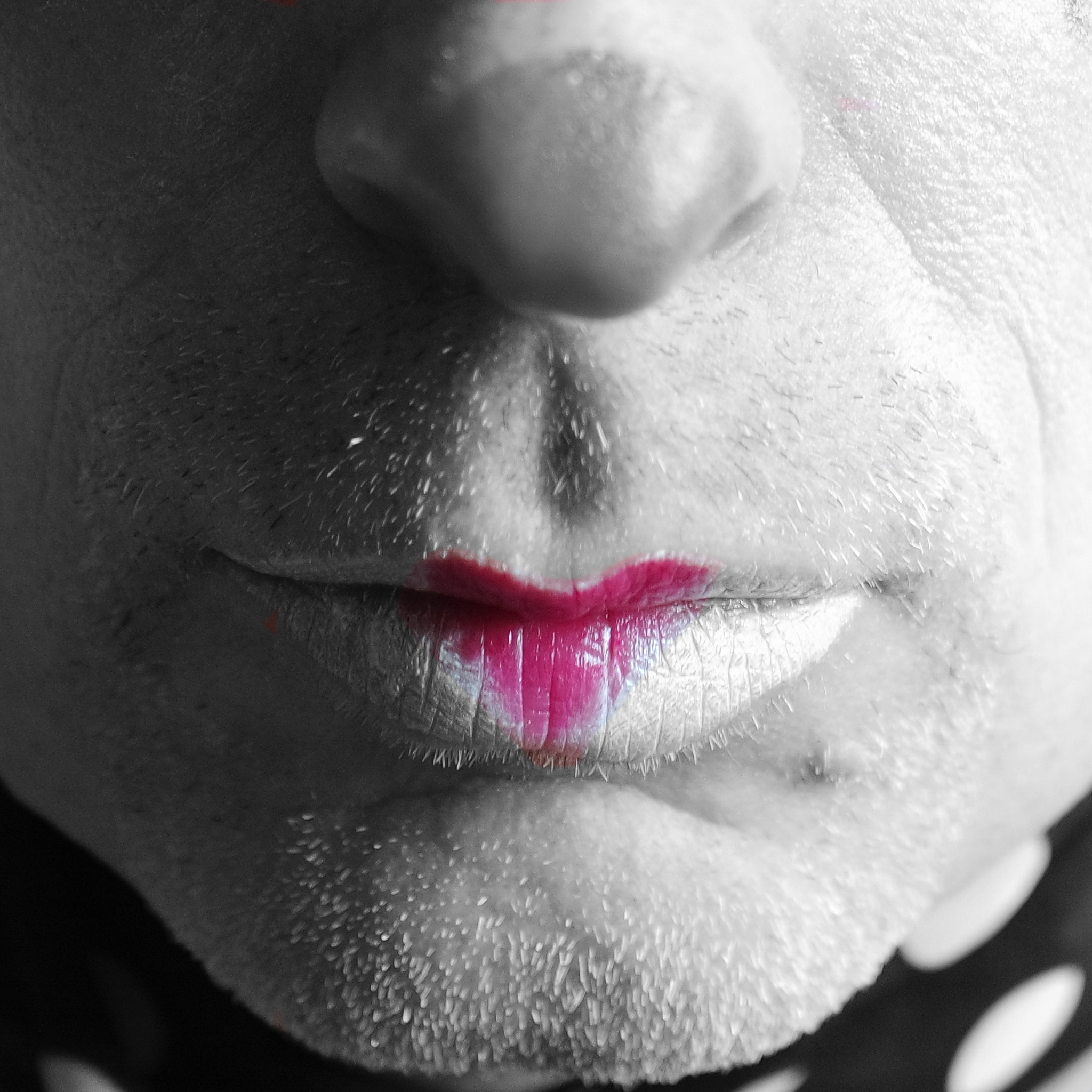 Sunday Selfie - 'The Last Clowns II' - Visible Word - photograph (c) David Bailey (not the)